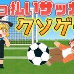 スチームクソゲー 酔っぱらった状態でサッカーしてはいけません【Drunk Soccer is the Best Soccer】