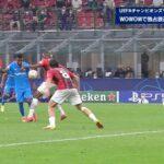 【GS Matchday2】ミラン vs アトレティコ・マドリード 1分ハイライト/UEFAチャンピオンズリーグ 2021-22【WOWOW】