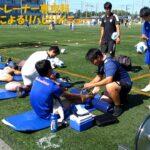 サッカートレーナー専攻科 学生によるリハビリメニュー