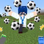 😜マイクラ超次元サッカー!必殺技の使えるミニゲームが神すぎたwww【マインクラフト】【マイクラ実況】