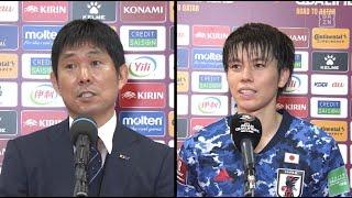 森保一監督、田中碧ら試合後インタビュー 日本 2-1 オーストラリア AFCアジア予選 – Road to Qatar - 2021