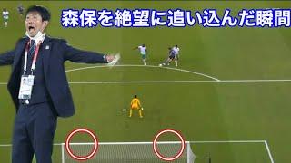 『サッカー日本代表』二度も絶好機を外す大迫勇也