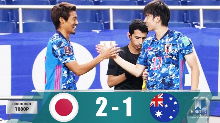 日本代表 vs オーストラリア代表⚽️サッカーW杯アジア最終予選!